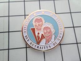 216b Pin's Pins / Beau Et Rare / THEME : ASSOCIATIONS / ASSOCIATION DES RETRAITES DE CUVERVILLE CALVADOS - Verenigingen