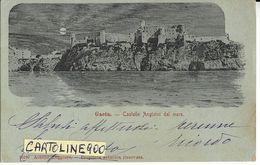 Lazio-latina-gaeta Castello Angioini Dal Mare Primi 900 (f./piccolo/v.retro) - Italy