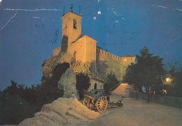 (H330) - SAN MARINO  - La Prima Torre Di Notte - San Marino