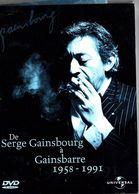 De Serge Gainsbourg à Gainsbarre 1958-1991 - DVD