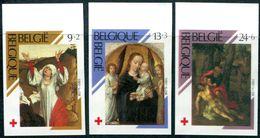 13189001 BE 19890218; Croix-Rouge, Peintures; ND Cob2312-14 N°511 - Belgium