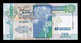 Seychelles 10 Rupees Commemorative 2013 (2016) Pick 52 SC UNC - Seychelles