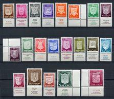 Israël - YT N° 271 à 286 - Neuf Sans Charnière - 1965 à 1967 - Unused Stamps (with Tabs)