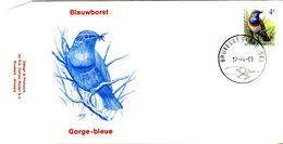 14189016 BE 19890417 Bx; Oiseau, Buzin, Gorge Bleue; FDC Cob2321 - FDC