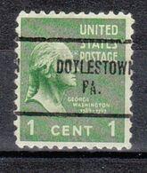 USA Precancel Vorausentwertung Preo, Locals Pennsylvania, Doylestown 704 - Estados Unidos