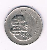 20 CENTS 1965 ZUID AFRICA /6208/ - Sudáfrica