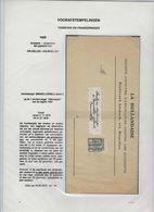 DOCUMENT Van ASSURANCE LA HOLLANDAISE Met Rijkswapen Nr. 53 Voorafgestempeld Nr. 605 A  ;  Zie 3 Scans ! LOT 191/3 - Roller Precancels 1900-09