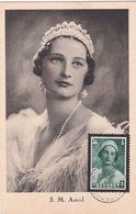 CPA - Belgique / België - S. M. Astrid - 1935 - Timbre N° 413 - 1934-1951