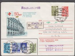 1982- LETTONIE.. Russian 4 Kop Envelope With 50 Years Research Institute For First Ai... () - JF365268 - Letonia