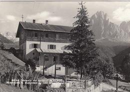 ST.ULRICH-ORTISEI-BOZEN-BOLZANO-ALBERGO PENSIONE=SAN GIACOMO= CARTOLINA VERA FOTOGRAFIA VIAGGIATA IL 23-7-1968 - Bolzano (Bozen)