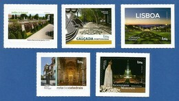 Portugal   2019 Mi.Nr. 4504 / 08 , Sehenswürdigkeiten Algarve - Selbstklebend / Self-adhesive - Postfrisch / MNH / (**) - Unused Stamps