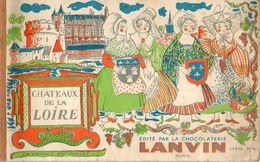 Album Chromo - 097D - Châteaux De La Loire - édité Par Chocolat Lanvin Serie N° 4 - 1957 - Incomplet - Schokolade