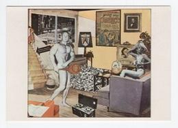 """DF / ARTS / PEINTURE / TABLEAU DU PEINTRE RICHARD HAMILTON """" QU'EST-CE QUI REND NOS FOYER D'AUJOURD'HUI SI DIFFERENTS """" - Paintings"""