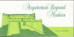 MADEIRA Markenheftchen 6, Postfrisch **, Festungen Auf Madeira 1986 - Non Classificati