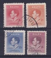 Nauru: 1937   Coronation    Used - Nauru