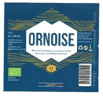 - Brasserie L'Ornoise - Etiquette Ornoise - - Bière