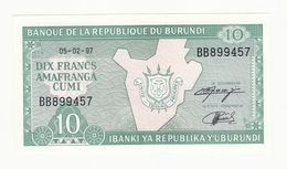 BURUNDI M - Burundi