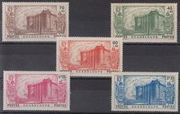 GUADELOUPE : SERIE BASTILLE REVOLUTION N° 142/146 NEUVE * GOMME AVEC CHARNIERE - Guadeloupe (1884-1947)
