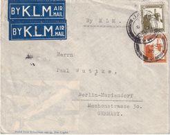 PALESTINE 1936 PLI AERIEN DE JAFFA POUR BERLIN - Palestine