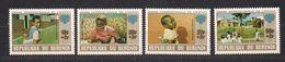 Burundi 1979 OCB 839A-842A *** MNH Cote 12,50 € Année De L' Enfant - Burundi