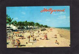 95204    Stati  Uniti,   World-famous  Bathing Beach,  Hollywood,  Florida,  VG  1963 - Etats-Unis