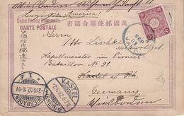 JAPON 1902 CARTE ILLUSTREE DE TOKYO - Giappone