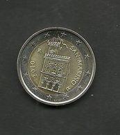 SAINT MARIN  = UNE PIECE DE 2 EUROS De 2010 - San Marino