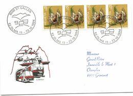 """90 - 95 - Carte Avec Oblit Spéciale """"OLMA St Gallen 1994"""" - Marcofilie"""