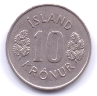 ICELAND 1977: 10 Kronur, KM 15 - Islanda