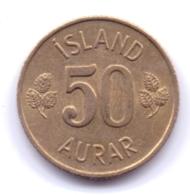 ICELAND 1973: 50 Aurar, KM 17 - Islanda