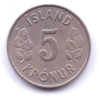 ICELAND 1969: 5 Kronur, KM 18 - Islanda