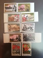 1968...USSR..  VINTAGE SET OF STAMPS.. THE 50th ANNIVERSARY OF SOVIET ARMED FORCES - Non Classificati