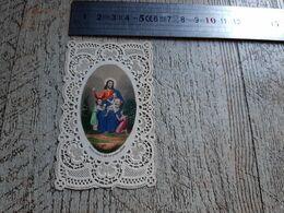 Image Religieuse Canivet Ancien Religion Chromo Laissez Venir à Moi Les Petits Enfants - Andachtsbilder