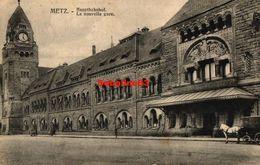 Metz - La Nouvelle Gare - 1914 - Metz
