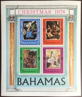 Bahamas 1976 Christmas Minisheet MNH - Bahamas (1973-...)