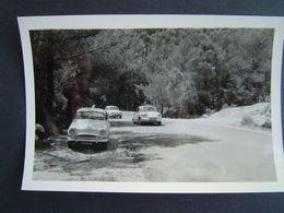 PHOTOGRAPHIE AUTOMOBILE Ancienne 1960 : ROUTE En PROVENCE / ARONDE / PANHARD / DAUPHINE - Auto's