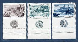 Israël - YT N° 330 à 332 - Neuf Sans Charnière - 1967 - Neufs (avec Tabs)