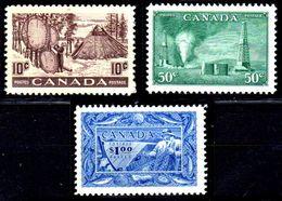 B322-Canada 1950-51 (++) MNH - Senza Difetti Occulti - - 1937-1952 Règne De George VI