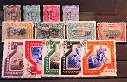 Diverses Petites Valeurs Semi-moderne  (13 Stamps) - Briefmarken