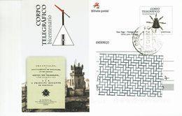 Portugal , 2010 , Stationery , Entier , Bicentenario Corpo Telegrafico , Telegraph Services - Postal Stationery