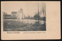 Sint Ulriks Kapelle - CHATEAU DE NIEUWERMOLEN A CAPELLE ST.ULRIC - Dilbeek