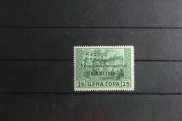 Deutsche Besetzung 2. WK Montenegro 10 ** Postfrisch #UF979 - Occupation 1938-45