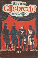 WIE WAS GIJSBRECHT WERKELIJK? (AO-REEKS 792) 1959 - RENAUD - Storia