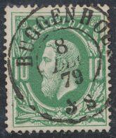 """émission 1869 - N°30 Obl Double Cercle """"Buggenhout"""" (1879). Belle Frappe / COBA : 30. Collection Spécialisée. - 1869-1883 Leopoldo II"""