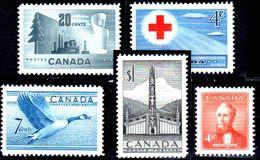 B324-Canada 1952 (++/+) MNH/LH - Senza Difetti Occulti - - 1937-1952 Règne De George VI