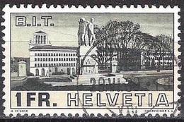 Schweiz Suisse 1938: Bâtiment Du BIT-Gebäude Zu 214 Mi 324 Yv 310 Mit Voll-o BISCHOFSZELL 29.VI.39 (Zumstein CHF 30.00) - Schweiz