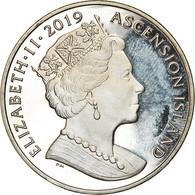 Monnaie, Ascension Island, 2 Pounds, 2019, Pobjoy Mint, 1er Pas Sur La Lune - Ascension Island