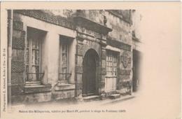 D85 - FONTENAY - MAISON DITE MILLEPERTUIS HABITEE PAR HENRI IV PENDANT LE SIEGE DE FONTENAY - PRECURSEUR - Fontenay Le Comte