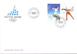 NORGE OLYMPIC WINTER GAMES 2006 COVER TORINO  (AGO200140) - Winter 2006: Torino