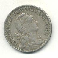 PORTUGAL 1$00 ESCUDO 1961 - Portugal